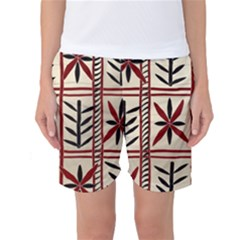 Abstract A Colorful Modern Illustration Pattern Women s Basketball Shorts