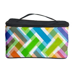 Abstract Pattern Colorful Wallpaper Background Cosmetic Storage Case