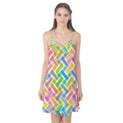 Abstract Pattern Colorful Wallpaper Background Camis Nightgown