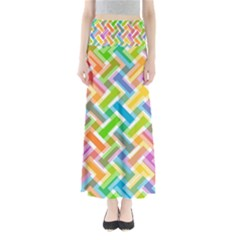 Abstract Pattern Colorful Wallpaper Background Maxi Skirts