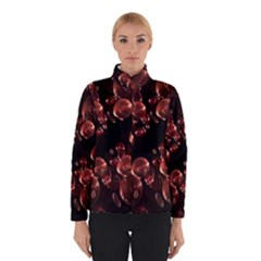 Fractal Chocolate Balls On Black Background Winterwear