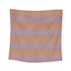 Brick Wall Squared Concentric Squares Square Tapestry (small)