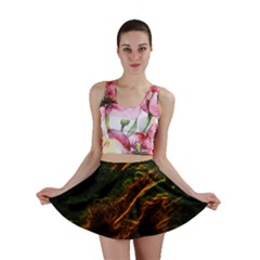 Abstract Glowing Edges Mini Skirt