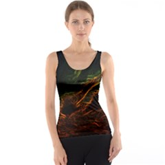 Abstract Glowing Edges Tank Top