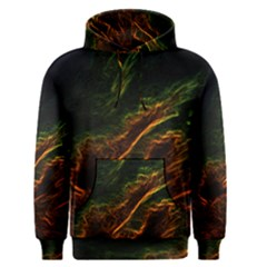 Abstract Glowing Edges Men s Pullover Hoodie