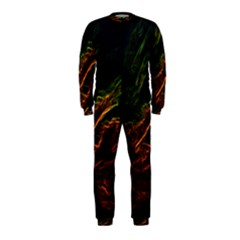 Abstract Glowing Edges OnePiece Jumpsuit (Kids)