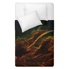 Abstract Glowing Edges Duvet Cover Double Side (single Size)