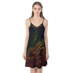 Abstract Glowing Edges Camis Nightgown