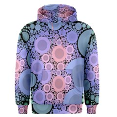 An Abstract Background Consisting Of Pastel Colored Circle Men s Pullover Hoodie