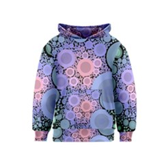An Abstract Background Consisting Of Pastel Colored Circle Kids  Pullover Hoodie