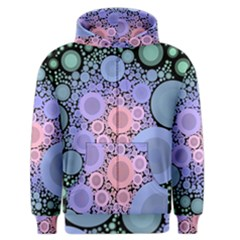 An Abstract Background Consisting Of Pastel Colored Circle Men s Zipper Hoodie