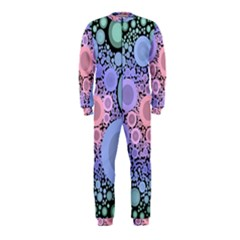 An Abstract Background Consisting Of Pastel Colored Circle OnePiece Jumpsuit (Kids)