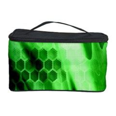 Abstract Background Green Cosmetic Storage Case