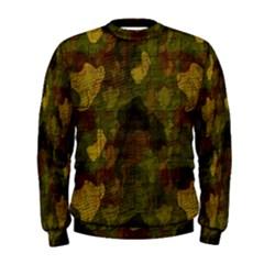 Textured Camo Men s Sweatshirt