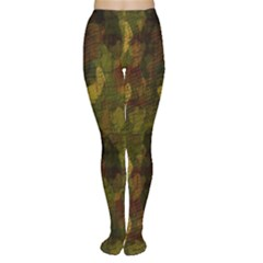 Textured Camo Women s Tights