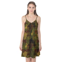 Textured Camo Camis Nightgown