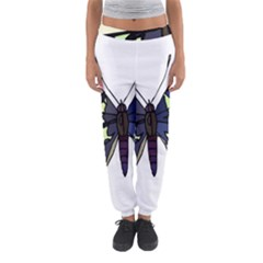 A Colorful Butterfly Image Women s Jogger Sweatpants