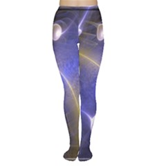 Fractal Magic Flames In 3d Glass Frame Women s Tights