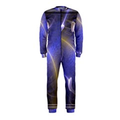 Fractal Magic Flames In 3d Glass Frame OnePiece Jumpsuit (Kids)