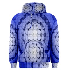 Abstract Background Blue Created With Layers Men s Pullover Hoodie