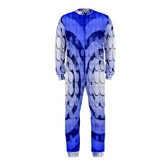 Abstract Background Blue Created With Layers OnePiece Jumpsuit (Kids)