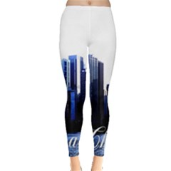Abstract Of Downtown Chicago Effects Leggings