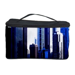 Abstract Of Downtown Chicago Effects Cosmetic Storage Case