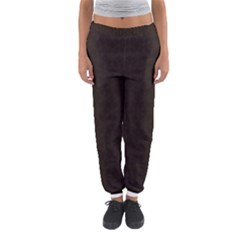 Vintage Paper Kraft Pattern Women s Jogger Sweatpants