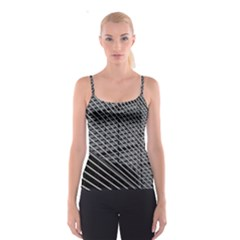 Abstract Architecture Pattern Spaghetti Strap Top