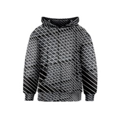 Abstract Architecture Pattern Kids  Pullover Hoodie