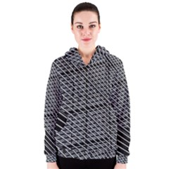 Abstract Architecture Pattern Women s Zipper Hoodie