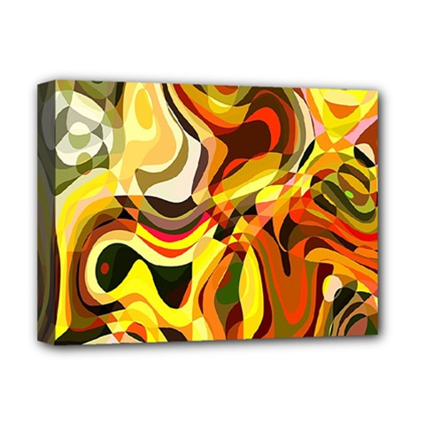 Colourful Abstract Background Design Deluxe Canvas 16  x 12