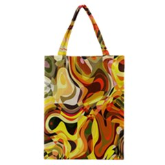 Colourful Abstract Background Design Classic Tote Bag