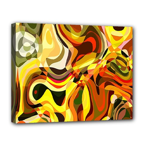 Colourful Abstract Background Design Canvas 14  X 11