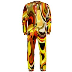 Colourful Abstract Background Design OnePiece Jumpsuit (Men)