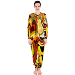 Colourful Abstract Background Design OnePiece Jumpsuit (Ladies)