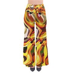 Colourful Abstract Background Design Pants