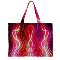 Fire Flames Abstract Background Mini Tote Bag