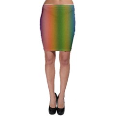 Colorful Stipple Effect Wallpaper Background Bodycon Skirt