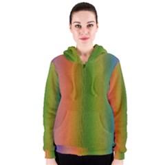 Colorful Stipple Effect Wallpaper Background Women s Zipper Hoodie