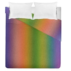 Colorful Stipple Effect Wallpaper Background Duvet Cover Double Side (queen Size)