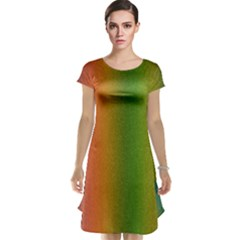 Colorful Stipple Effect Wallpaper Background Cap Sleeve Nightdress