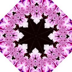 Fractal In Pink Lovely Golf Umbrellas