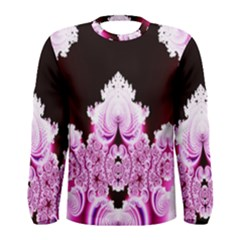Fractal In Pink Lovely Men s Long Sleeve Tee