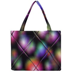 Soft Balls In Color Behind Glass Tile Mini Tote Bag