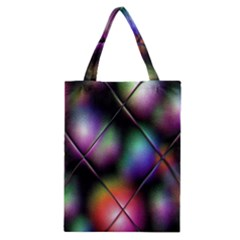 Soft Balls In Color Behind Glass Tile Classic Tote Bag