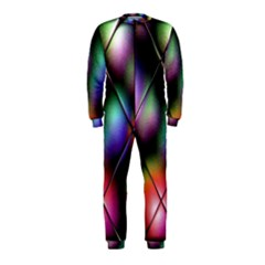Soft Balls In Color Behind Glass Tile OnePiece Jumpsuit (Kids)