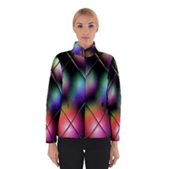 Soft Balls In Color Behind Glass Tile Winterwear