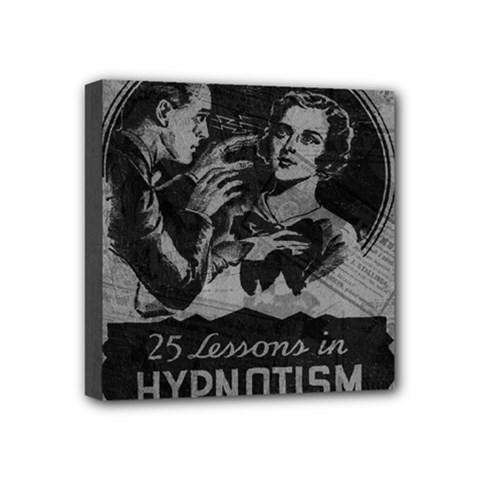 Vintage Hypnotism Mini Canvas 4  x 4