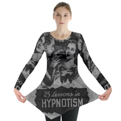 Vintage Hypnotism Long Sleeve Tunic